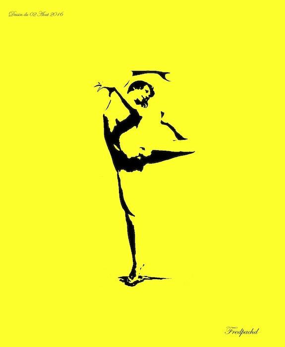 Femme danse Modèle allemande 1878. Pac Yveslanoé