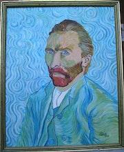 Auto portrait van gogh. Pierre Adolle