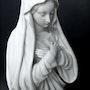 Statue de la Sainte Vierge. Marc Menzoyan Antiquités