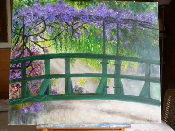 Pont japonais. Salsera Salsera