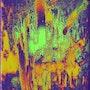 Color Design - Super Nova - kaleidoskopisch verfremdet. Wolfgang Lemke