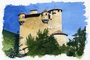 Château de Hautségur - Ardèche.