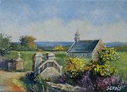 Petite chapelle bretonne.