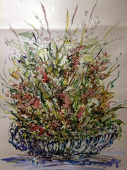 Flores enmarcadas. Manuel Menchon