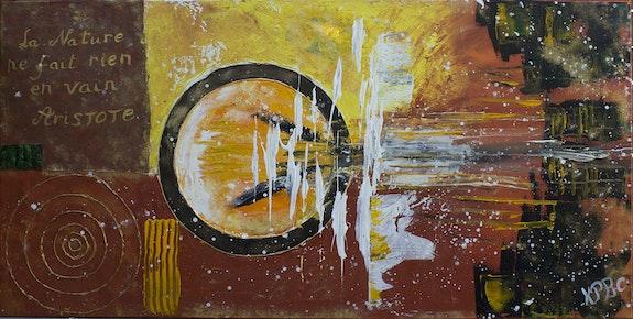 Birth - abstrait technique mixte. Katty Perdriolle Katty Perdriolle