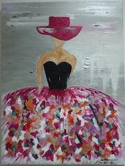 La Femme Arlequin. Altarrié