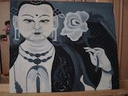 Buda india. Almudena Pacheco
