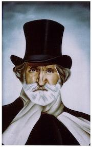 Portrait de Verdi.