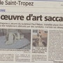 Vandale- article varmatin. Paul Nebac