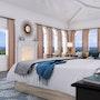 Master Bedroom Design. Yantram Animation Studio