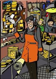 La fromagère. Selleret Frédéric