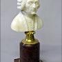 Buste de Rousseau. Marc Menzoyan Antiquités