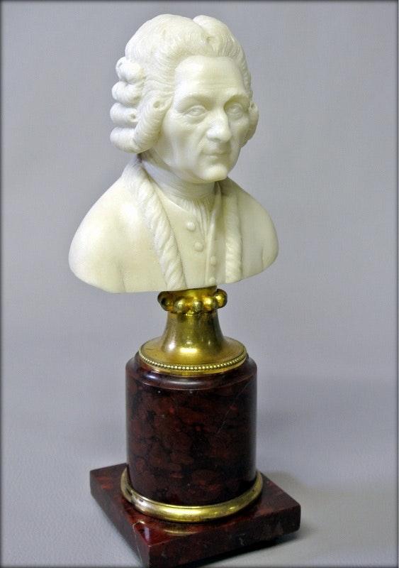 Buste de buffon.  Marc Menzoyan Antiquités
