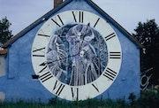 La maison du peintre Chop, l'horloge.