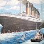 Et si le titanic n'avait pas coulé? (Retour triomphal à New York). Pierre Adolle