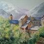 Un village du Val d'Aran. Anne-Marie Briot