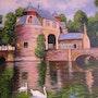Un moulin en Belgique. Pierre Adolle