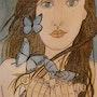 La belle envolée de papillons -. Anne. B