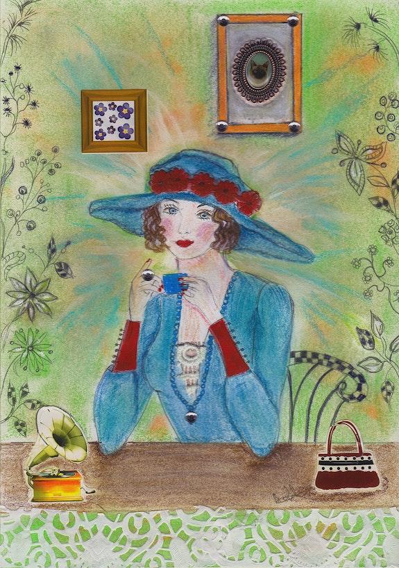 La dame rétro. Michèle Michèle G