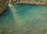 Bassin dans le Rioumajou.