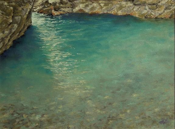 Bassin dans le Rioumajou. Nathalie Martin Nathalie Martin