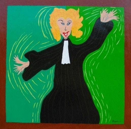 Madame lavaud Kate, l'avocate. Fk Fk