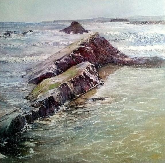 A pie de playa. Tomás Castaño Tomas Castaño