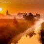 Un village dans la brume. Marie Carteron