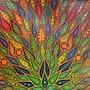 Contemporary painting : color of Diffusion. Jonathan Pradillon