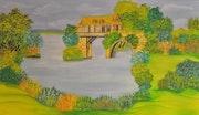 Le vieux moulin (Vernon).