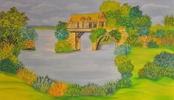 Le vieux moulin (Vernon). Gerard Flohic Gerard Flohic