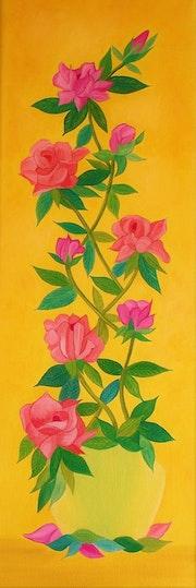 Les roses de Mayenne.
