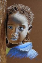 Kind aus Äthiopien. Renate Dohr