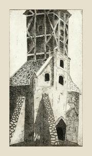 Kirche in Middelhagen.