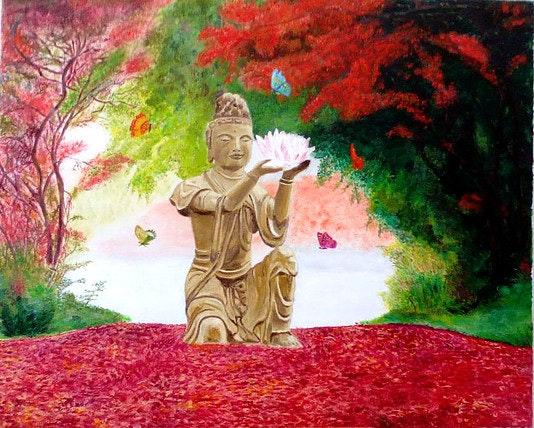 Bouddha automne.  Umarilys