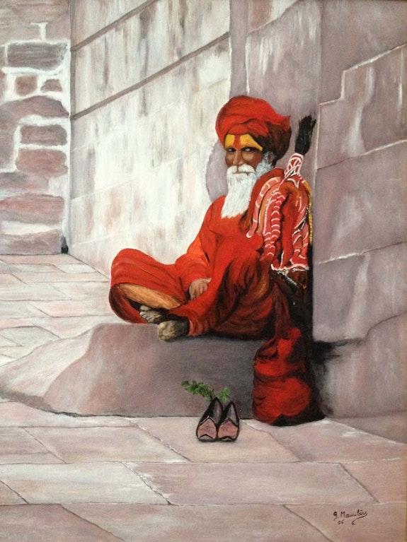 Le Sâdhu- homme de prières. Germaine Mauclere Germaine Mauclere