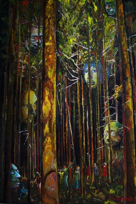 Contes de la forêt ordinaire. J. L. Manuel Jean-Louis Manuel