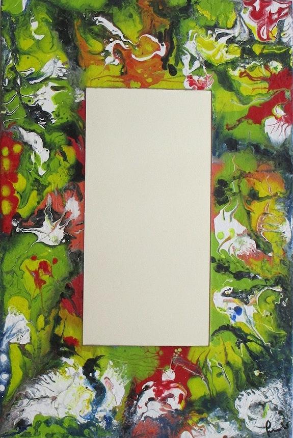 Specchio di Terry N. 12 «L'oasi». Teresa Suardi Gli Specchi Di Terry