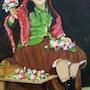 La vendedora de flores. Lucía Crespo