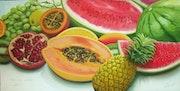 Frutas tropicais.