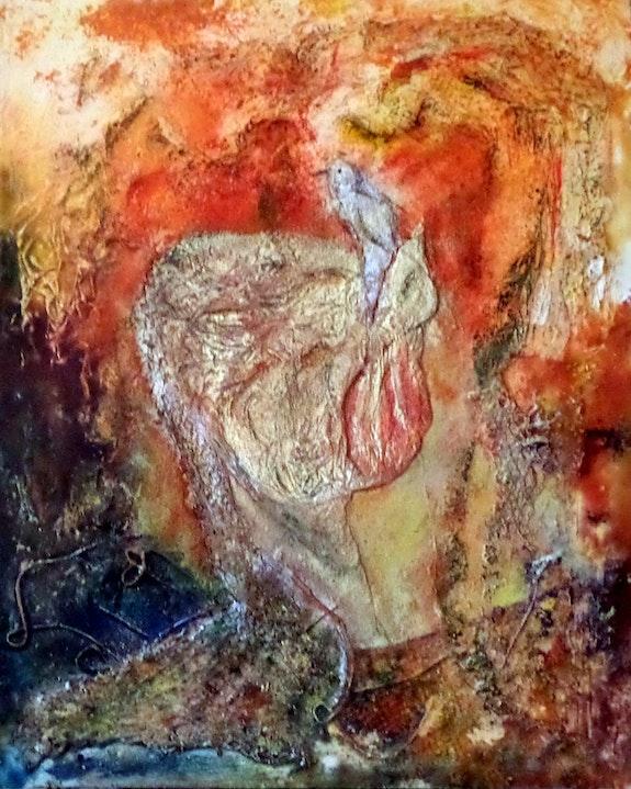 L'enfant et l'oiseau. Christiane Fages Christiane Fages - Gramont