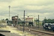 Le rail à Migennes (Yonne).
