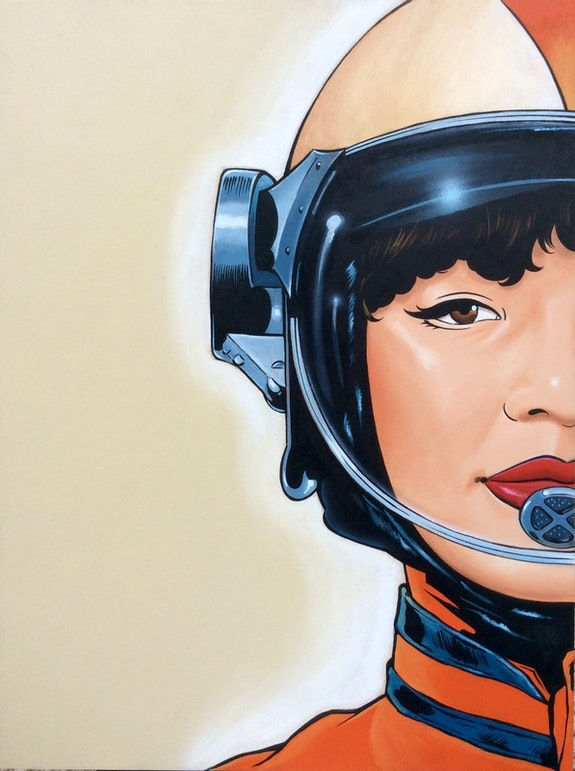Space girl 2. Beaudenon Thierry Beaudenon