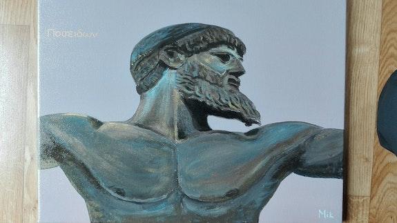 Poseidon. Mikel Richard Mik'art