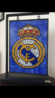 Escudo Real Madrid. Almudena Agüeria