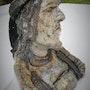 Personnage breton raku. Quinquin