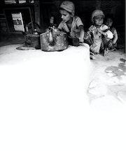 Petits vendeurs de thé.