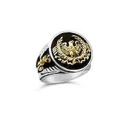 Roman Eagle Fasces Eagle Signet ring. Bruno Barsoum
