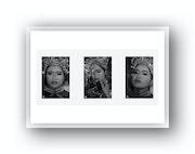 Triptyques de Portraits, jeune Danseuse Lanna. Regis Serange