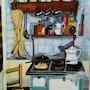 Cocina d, epoca. Juan Aiza